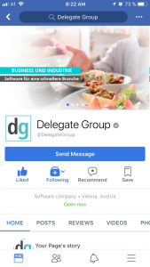 Facebook-delegategroup