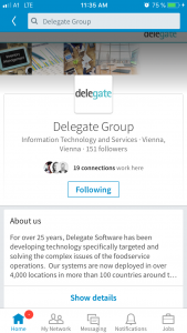 LinkedIn-delegategroup